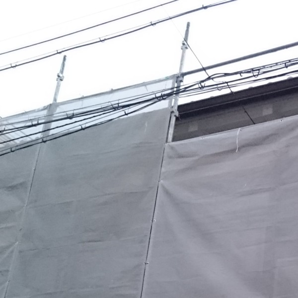 雨とい、破風工事