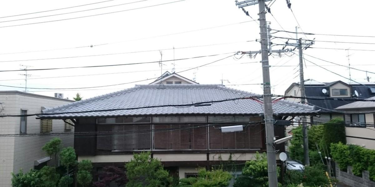葺き替え|日本瓦⇒日本瓦