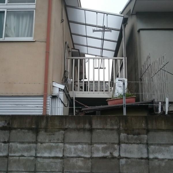 バルコニー&下屋根葺き替え