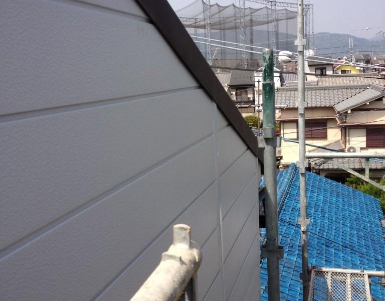 雨漏り|金属サイディング張替、ガルテクト重ね葺き